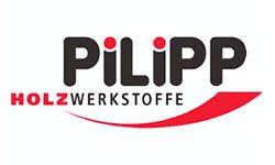 <strong>PILIPP Holzwerkstoffe</strong> beliefert uns mit einem stets aktuell zusammengestellten Sortiment namhafter Bodenbelaghersteller.